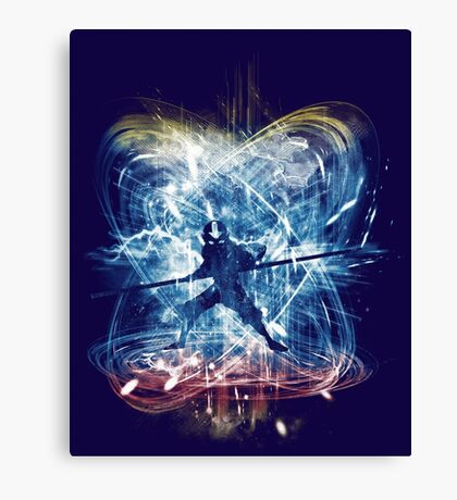 elemental storm Canvas Print