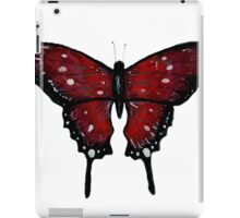 Red Butterfly  iPad Case/Skin