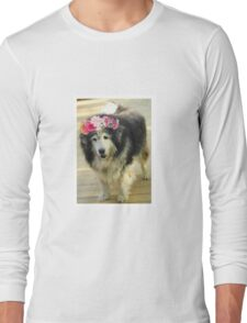 Leo from Old Friends Senior Dog Sanctuary Long Sleeve T-Shirt