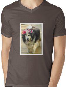 Leo from Old Friends Senior Dog Sanctuary Mens V-Neck T-Shirt