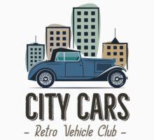 Vintage Car Label Kids Tee