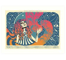 The Asteroids Galaxy Tour - psychedelic Art Print