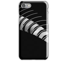 Curvy stripes iPhone Case/Skin