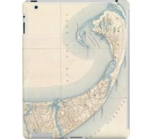 Vintage Map of Lower Cape Cod iPad Case/Skin