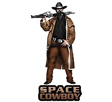 Space Cowboy Cropped Photographic Print