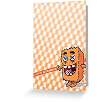 Joyful rectangle Greeting Card