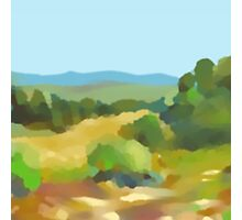 Digital Landscape Painting Photographic Print