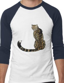King Cheetah Men's Baseball ¾ T-Shirt