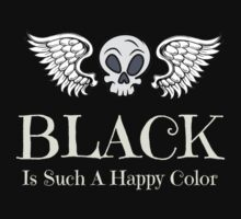 Black Is Such A Happy Color by Sarah Ball (TheMaggotPie)