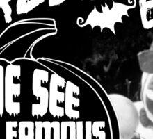 John Wayne Gacy - Pogo's Crawlspace Halloween Bash Sticker