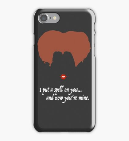 Winnie with white font iPhone Case/Skin