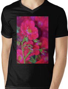 Rose 334 Mens V-Neck T-Shirt