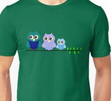 Cute Owl Sweet Nice Girl Girlfirend Family Woman Puffy Toy Animal Design Cartoon Gift T-Shirts Unisex T-Shirt