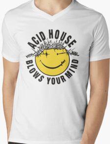 Acid House Blows Your Mind Mens V-Neck T-Shirt