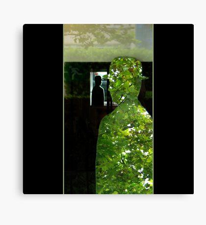 Through Magritte Canvas Print