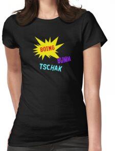Boing Buum Tschak! Womens Fitted T-Shirt