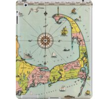 Vintage Map of Cape Cod iPad Case/Skin
