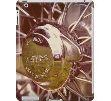 Jaguar wire wheel iPad Case/Skin