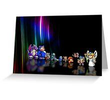 Wonder Boy in Monster World pixel art Greeting Card