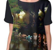 Donkey Kong Country pixel art Chiffon Top