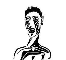 Portrait of Tristan Photographic Print