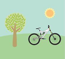 Downhill mountainbike by G-Design