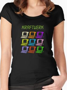 Computer World Women's Fitted Scoop T-Shirt
