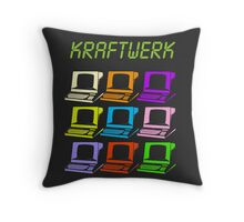 Computer World Throw Pillow