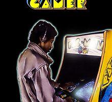 Vintage Gamer 80's by Daniel Tearle