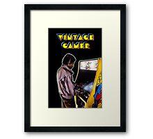 Vintage Gamer 80's Framed Print