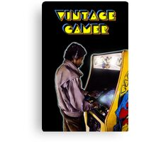 Vintage Gamer 80's Canvas Print