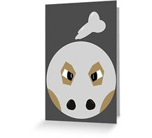 Cubone Ball Greeting Card
