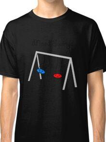 Funny Mood Swings Cartoon Classic T-Shirt