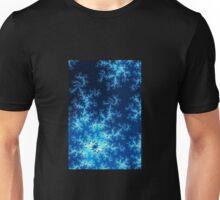 Dark Blue Fractal Unisex T-Shirt
