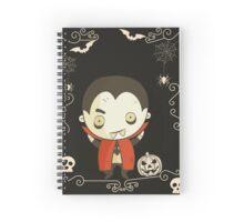 Dracula, vampire Spiral Notebook