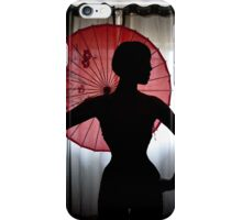 Elegant silhouette iPhone Case/Skin