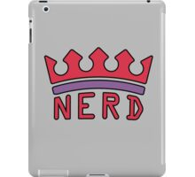 The Nerd King / Queen iPad Case/Skin