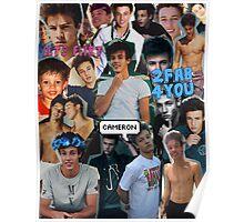 Cameron Dallas Collage Poster