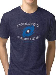 Official Survivor Hurricane Matthew Tri-blend T-Shirt