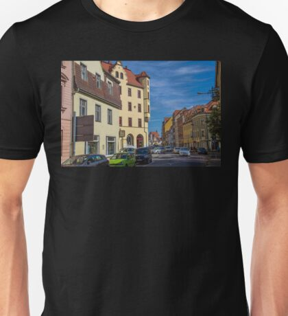 Germany. Meissen. Old Town. Busy Street. Unisex T-Shirt