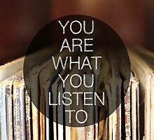 You Are What You Listen To // Cards by GalaxyEyes