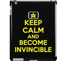 Keep Calm and Become Invincible iPad Case/Skin