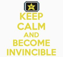 Keep Calm and Become Invincible Baby Tee