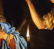 Annunciation 17th Century Sticker