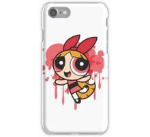 The Pink Powerpuff Sticker iPhone Case/Skin