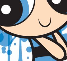 The Blue Powerpuff Sticker Sticker