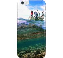 Mwand Passage - Pohnpei, Micronesia  iPhone Case/Skin