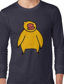 Yellow Monkey Long Sleeve T-Shirt