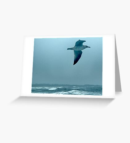 Above the Waves Greeting Card