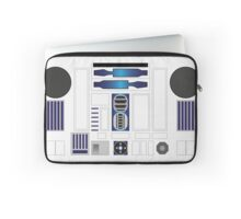 R Two Blue/White Laptop Sleeve
